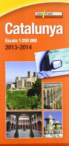 Mapa De Catalunya. Escala 1:250.000 (Mapas de carreteras. Comunidades autónomas y regio)