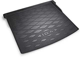 Volkswagen 11A061160A Boot Liner with ID.4 Lettering Only for Variable Loading Floor (Top Position) PR Code 3GN Black