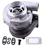 Universal GT3076R GT3037 GT30 Turbo Charger T3 4-BOLT Flange 500HP 0.6 A/R 0.82 Turbine Water+Oil 500HP
