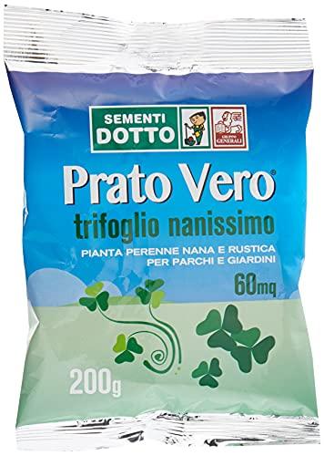 Sdd 40030420 Prato Trifoglio Nanissimo, Verde, 12x20x2 cm