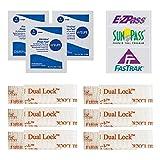 WEUPE EZ Pass/I-Pass/SunPass Adhesive Strips,...