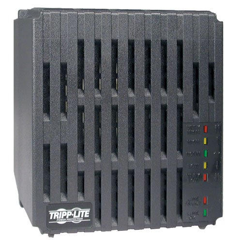 Tripp Lite 1800W Line Conditioner, AVR Surge Protection, 120V, 15A, 60Hz, 6 Outlet, 6 ft. Cord, 2 Year Warranty & $25,000 Insurance (LC1800)
