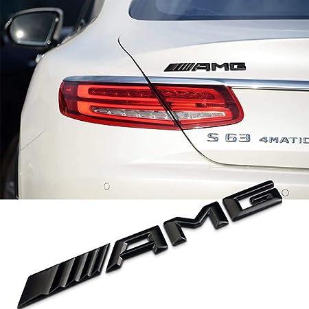 Amg Turbo Kotflügel Emblem Logo Schwarz Auto