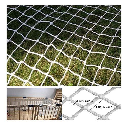 Red de escalada para mascotas, red de escalada de seguridad, red de cuerda, escalada, red de carga, cables para el patio de juegos, juegos de columpios de escalera, juego de nylon, resistente y resis