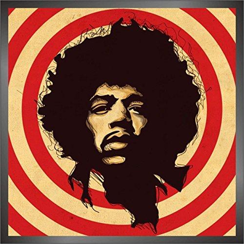 Pegatinas Jimi Hendrix hip hop rap jazz hard rock pop funk