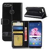GOGME Cover Huawei Honor 9 Lite, Moda Custodia Portafoglio, [Serie Portafogli] Bella Cover in...