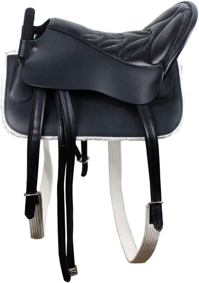 KDKDA Western Pleasure desfile Mostrar cuero Horse Trail turistas TACK silla silla de montar de una silla conjunto completo de accesorios de hardware de una silla Serie del caballo del arnés Suministr