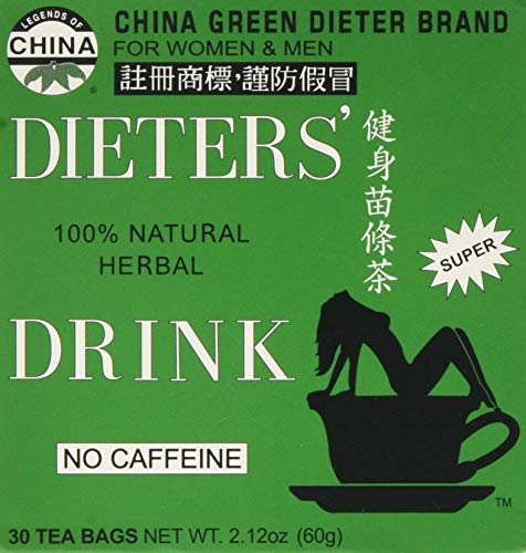 Uncle Lee's Tea, Legends of China, Dieter's 100% Natural...