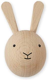 OYOY Mini – väggkrok av trähas – Garderobyxor för barn/barnkammare – 8 x 6 x 4,5 cm