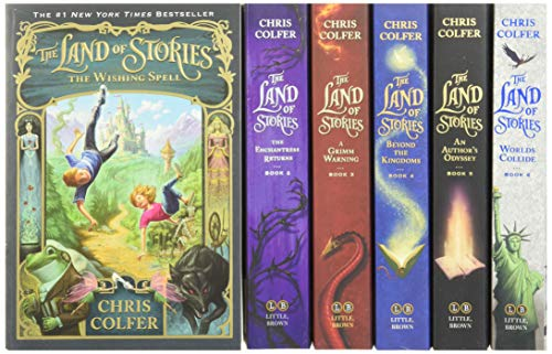 Product Image of the The Land of Stories Complete Paperback Gift Set