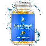 Keltenberg Omega 3 - extra hochdosierte Triglyceride Fischöl-Kapseln mit 500mg EPA, 250mg DHA ohne...