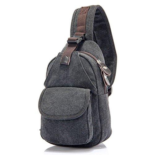 Sincere® sac de poitrine / Messenger hommes sac / sac femmes de la poitrine / Tote-4 carré