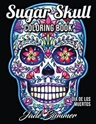 Sugar Skulls coloring book by Jade Summer