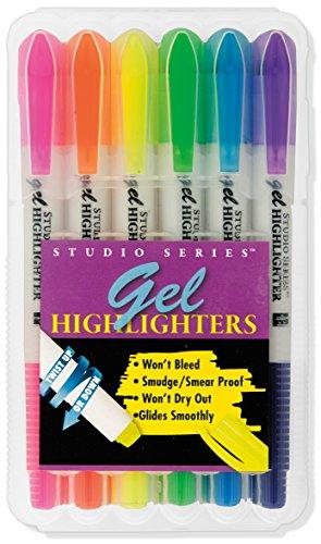 Gel Highlighters (set of 6)