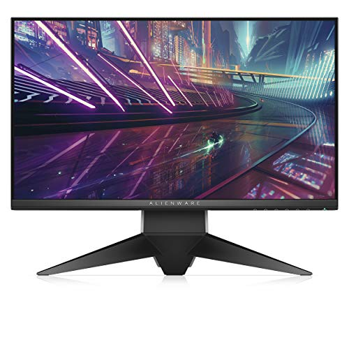 Alienware AW2518HF 24.5 Inch TN Gaming Monitor (Black Grey) (1 ms Response Time, Full HD 1920 x 1080 at 240 Hz, AMD Free-Sync, DP/HDMI, USB)