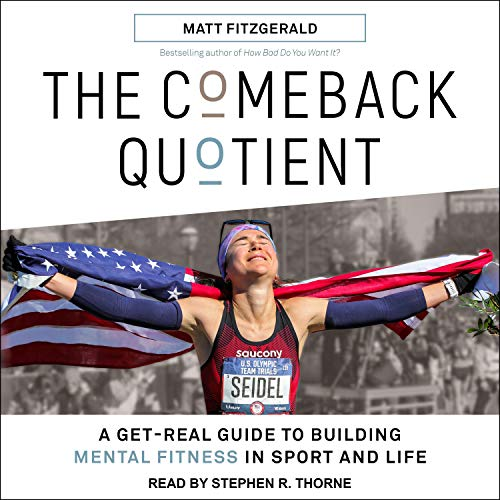 The Comeback Quotient Audiobook By Matt Fitzgerald cover art