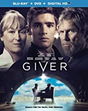 The Giver (Blu-ray/DVD, 2014, 2-Disc Set, Includes Digital Copy; Ultraviolet)