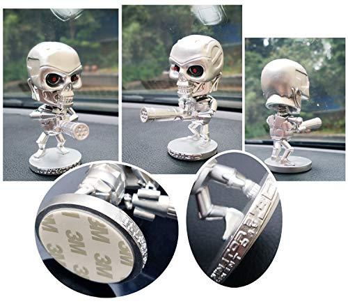 Auto Ornament Nette Kopfschütteln Schädel Automobile Interieur Armaturenbrett Schaukel Wackelpuppe Dekoration Ornamente Spielzeug Geschenk