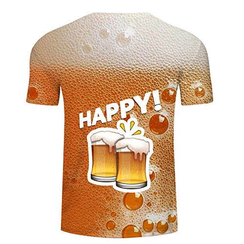 T Shirt Hommes T Shirt 3D Imprimé Streetwear Tops Simple Mode Casual Chemises Respirant T-Shirt Asiatiques Txkh3059