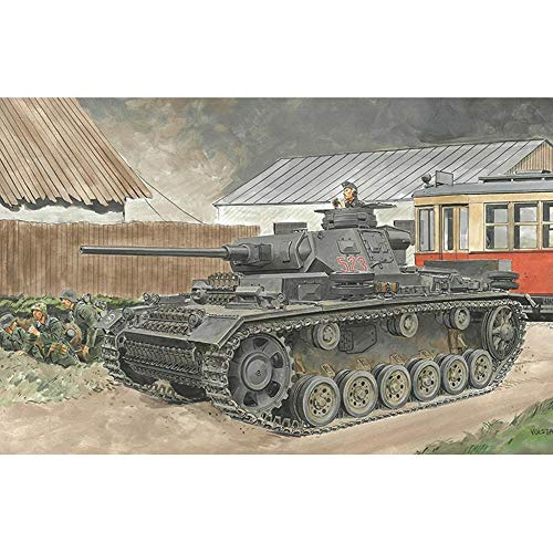 Dragon Kits #6954 1/35 Pz.Kpfw. III Ausf.J Initial/Early Production (2 in 1)