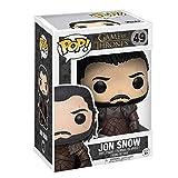 Lotoy Funko Televisión Pop: Juego de Thrones - Jon Snow 3.9inch Vinyl Gift para Boys Television Fans...