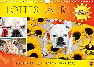 Lottes Jahr (Wandkalender 2016 DIN A4 quer): Ein Jahr mit Lotte aus dem SAT.1 Frühstücksfernsehen (Monatskalender, 14 Seiten)
