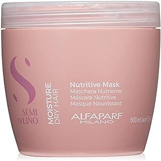 Alfaparf Milano Semi Di Lino Moisture Nutritive Mask, kleurrijk, 500 milliliter