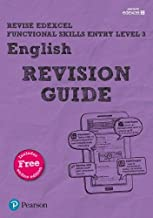 Revise Edexcel Functional Skills English Entry Level 3 Revision Guide: includes online edition (Revise Functional Skills)