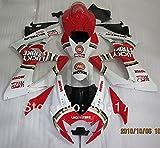 Accessories Hot Sales,GSXR600 GSXR750 K6 Fairing for Suzuki 06 07 2006 2007 Lucky Strike Motorcycle Bodywork Fairing (Injection molding)