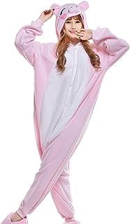 Pijama de Cerdo Animal Disfraces de Cosplay Unisex para Adultos
