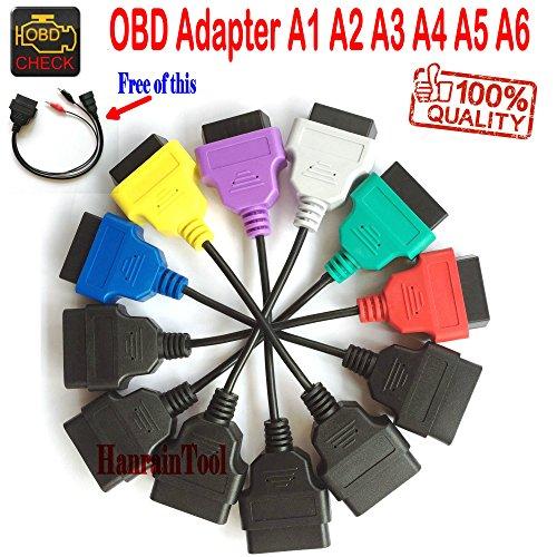 OBD Kit de Cable Adaptador A1 A2 A3 A4 A5 A6 OBD2 Cable de Diagnóstico 3pin Para Serie Italia Diagnostic Connect