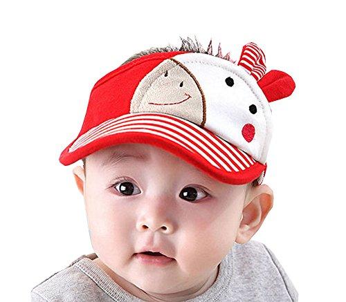 Bébé Durable Chapeau d'Été Mode Garçon Fille haut Empty Chapeau Sun Coton 19 '' #01