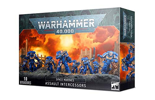 Games Workshop Warhammer 40k - Space Marine Primaris Intercessors d'Assaut