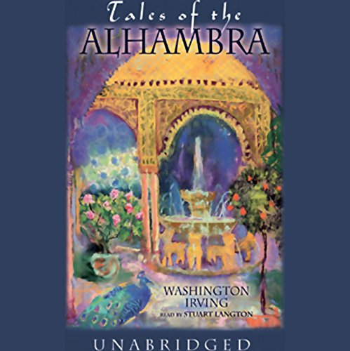 Tales of the Alhambra audiobook cover art