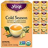 Yogi Tea - Cold Season (6 Pack) - Supports the Body During the Cold Weather Season - 96 Tea Bags