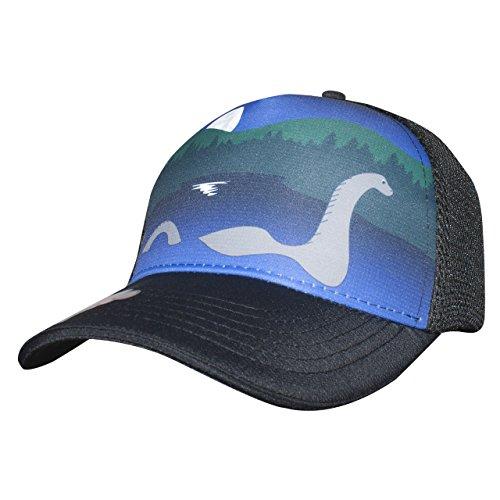 Headsweats Nessie 5 Panel Trucker Hat, Black, One Size