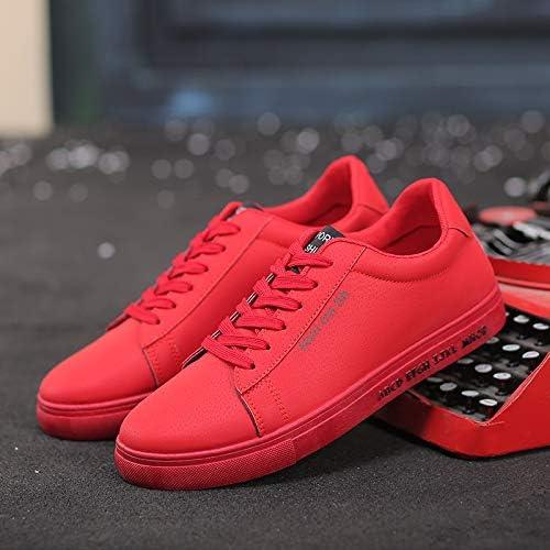 LOVDRAM Chaussures Hommes Chaussures De Sport pour Hommes De La Mode Coréenne étudiants Sauvages Chaussures De Sport pour Hommes, Rouges