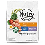 NUTRO NATURAL CHOICE Large Breed Senior Dry Dog Food, Chicken & Brown...