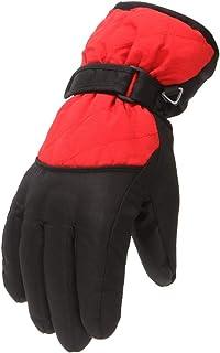 Moent, 1 par de guantes de invierno cálidos para niños, niños, niñas, nieve, resistente al viento, deportes al aire libre, esquí, snowboard, regalos para festivales