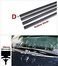 Wipers car Windscreen Wipers Rubber strip Wiper Blade for Toyota corolla rav4 camry prius hilux car wiper accessories - (Item Length: 19