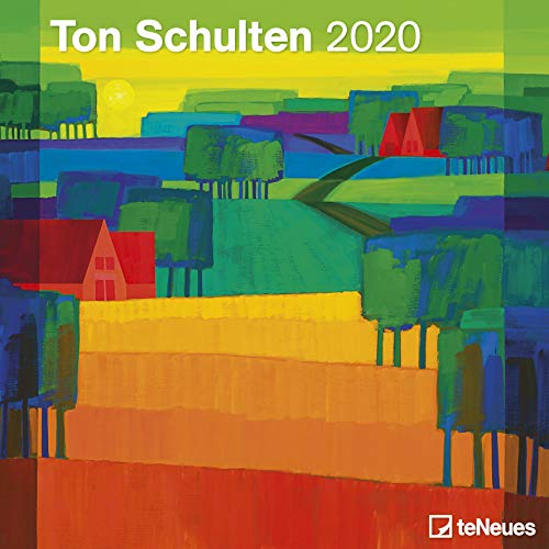 Ton Schulten 2020 - Broschürenkalender - Wandkalender - Kunstkalender - 30x30cm