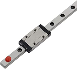 ReliaBot 200mm MGN9 Linear Rail Guide with MGN9H Carriage Block for 3D Printer and CNC Machine