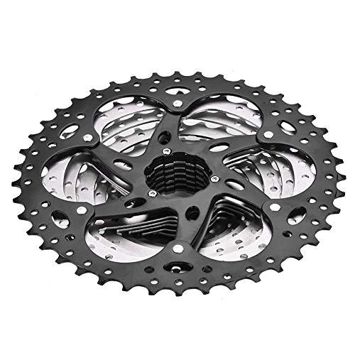 Casete de bicicleta de 10 velocidades, antioxidante, rueda libre de alta resistencia para bicicleta de montaña, con rotación suave, accesorio de repuesto para bicicleta, para anillo de cadena de 11-42