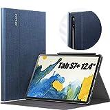 INFILAND Hülle für Samsung Galaxy Tab S7+/S7 Plus 12.4