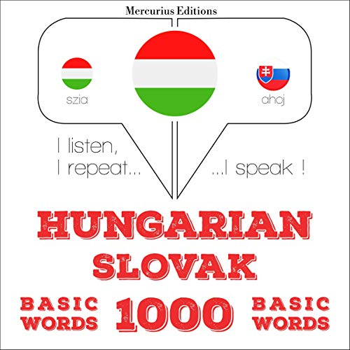 Couverture de Hungarian – Slovak. 1000 basic words