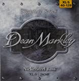 Dean Markley Nickelsteel Signature Bass Guitar Strings 2608B - NickelSteel per basso XL Size 40-128