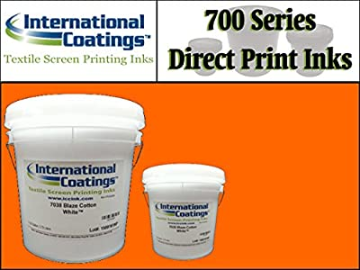 International Coatings Ink - 700 Series Direct Print Plastisol Ink for Screen Printing - Burnt Orange