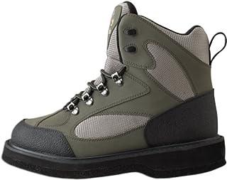 3fdddbd05ef5f Caddis Men's Northern Guide Lightweight Taupe and Green Felt Sole Wading  Shoe