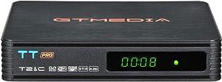 GT MEDIA TT Pro Decodificador TDT HD DVB-T/T2 Decodificador de TV por Terrestre Receptor de TV por Cable con Antena WiFi U...
