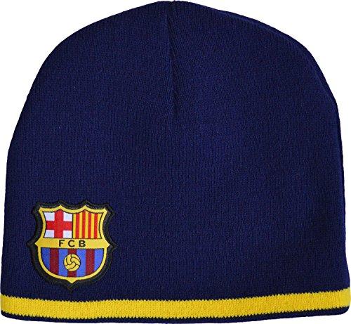 FC Barcelona - Gorro oficial del Barça (talla de adulto)